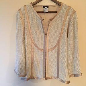 ESCADA Silk Lined Lightweight Sweater